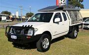 2010 Nissan Navara D40 ST-X (4x4) White 6 Speed Manual King Cab Pickup Wangara Wanneroo Area Preview
