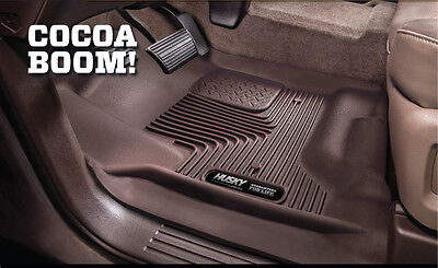 FLOOR MATS 2 Piece Heavy Duty COCOA BROWN 53110 For: SILVERADO 2500 HD 2014-2019