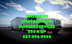 Deliveries <> Junk Removal <> Moving Services <> $50 & up
