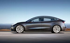 Transfert de réservation Tesla 3 (réception dans 4-8 semaines!)