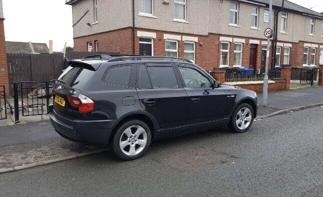 2006 BMW X3 M SPORT 4X4 2.0 DIESEL 150BHP TOP SPEC MINT CONDITION GREAT RUNNER BARGAIN!!