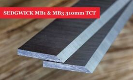 SEDGWICK MB1 & MB3 Planer Blades Knives 310mm TCT - 1 Pair Online