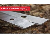 1 Pair W570/1 Charnwood Planer blade knives Online