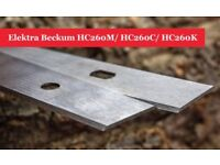 Elektra Beckum HC260M/ HC260C/ HC260K Planer Blades Knives - 1 Pair online