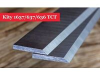 Kity 1637/637/636 Planer Blades Knives 260 X 20 X 2.5mm - 1 Pair