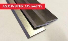 Axminster AW106 PT2 Planer Blades - Set of 3 Online At UK