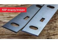 Online SIP 01413/01552 Planer Blades Knives - 1 Pair At UK