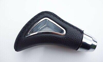 Für Mercedes Uni Schaltknauf Leder Schwarz Knauf Gear Shift Knob Schaltsack-