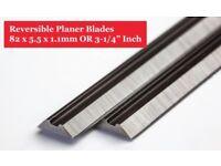 82mm Planer Blades-TCT82mm Carbide Planer Blades 5 Pair/Boxof 10 Online