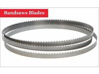 Buy Bandsaws Blades for Cutting Metal Plastic Wood at woodfordtooling