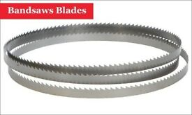 Bandsaws Blades for Cutting Metal Plastic Wood New-1712 (MM) x 1/2 (Inch) x 24 TPI