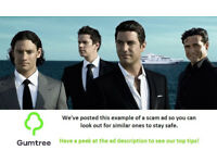 Il Divo Tickets -- Read the ad description before replying!!