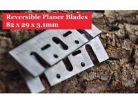 Online 82 x 29 x 3.1mm Planer Blades-HSS82x29x3.1mm Blades 1Pair/2Piece
