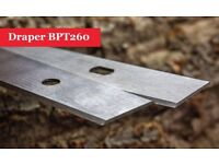 Draper BPT260 Double Edged Planer Blades Knives - 1 Pair