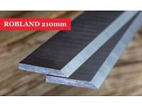 ROBLAND Planer Blades Knives 210 mm - 1 Pair Online