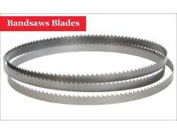 Bandsaws Blades for Cutting Metal Plastic Wood New-1505 (MM) x 1/4 (Inch) x 24 TPI