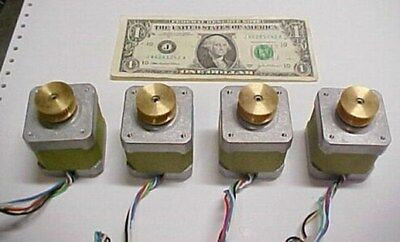 4 Sinotech Stepper Motors 42byg401-06a Robotic Cnc Mill Animated Stage Props New