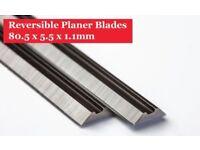 80.5mm Planer Blades-HSS 80.5mm Planer Blades - 1 Pair/ 2 Pieces Online