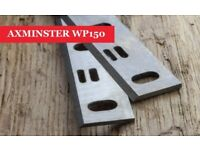 Axminster WP150 Resharpenable Planer Blades Knives - 1 Pair Online