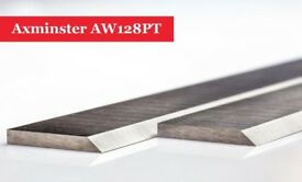 Axminster AW128PT Planer Blades Knives - 1 Pair At Woodfordtooling
