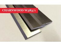 CHARNWOOD W583/1 Planer Thicknesser Blades Knives - Set of 3