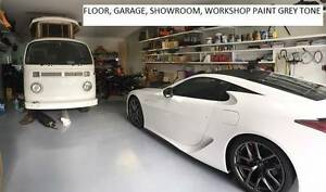 SHOWROOM FLOOR AND GARAGE POLY 10 LITRES GREY TONE Underwood Logan Area Preview