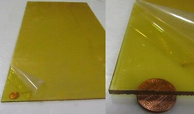 "3//4/"" Thick ULTEM Plate Cut to Size! Priced Per Foot"