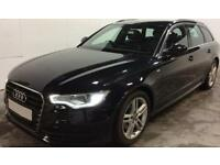 Black AUDI A6 AVANT ESTATE 2.0 3.0 TDI Diesel SPORT S LINE FROM £75 PER WEEK!