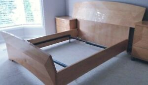 Bed Frame - Queen size with head board