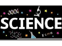 Qualified Science Teacher offering excellent tuition for students!