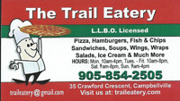 FULL/PART TIME POSTIONS AVALABLE IN A BUSY CAFE IN CAMPBELLVILLE