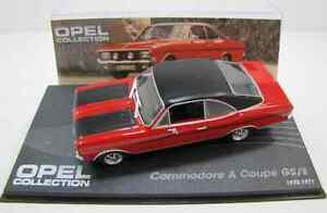 Opel Commodore A Coupe GS/E ( 1970 - 1971 ) rot / Opel Collection No.1 mit Heft
