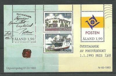 ALAND - POST OFFICE Åland Islands M/S 1993 MNH