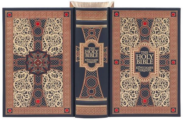 THE HOLY BIBLE: KJV illustrated by Gustave Dore Sealed Leather Bound BRAND NEW!