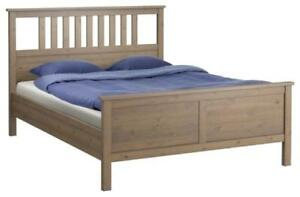 REDUCED! IKEA Hemnes Queen Bed & Mattress