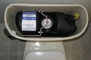 Commercial Pressure Assist Toilet (AS and PF)