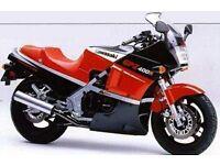 WANTED Kawasaki GPZ400R, GPZ 400 R, (ZX400 D3)
