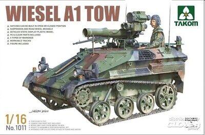 Takom 1011 Bundeswehr Wiesel A1 TOW mit Figur - 1:16