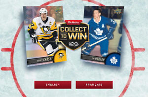 TIM HORTON'S HOCKEY CARDS 2017-2018 LAST CHANCE TO TRADE CARDS!
