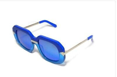 Karen Walker Hollywood Creeper Sea Blue Sunglasses RRP $329