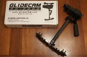 Glidecam HD-2000 + Manfrotto 190XB Tripod + 700RC2 Fluid Head