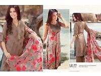 100% original charizma new swis voil 2016 Eid collection heavy embroidered limited stock PRP £75