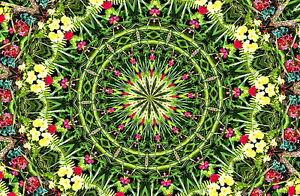 2-5x3-25-psychedelic-Emerald-Flower-fractal-laptop-sticker-decal-Mandala-420