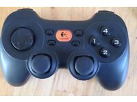 PC Logitech games controller with receiver