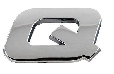 Sumex Branded Chrome 3D Sticker Self Adhesive Car /& Home Emblem Badge Letter S