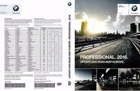 BMW Road Map Europe Professional 2016 3 DVDs