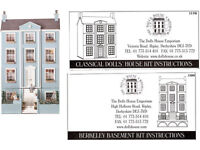 3 storey elegant Doll's House with Basement