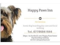 Happy Paws home dog boarding and day care
