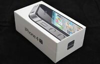 IPHONE 4S  ,  NEW, IN THE BOX, WITH ALL ACCESSORIES AND WARRANTY