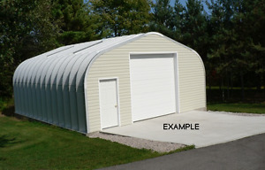 16' x 30' Steel Building from Future Buildings Inc.